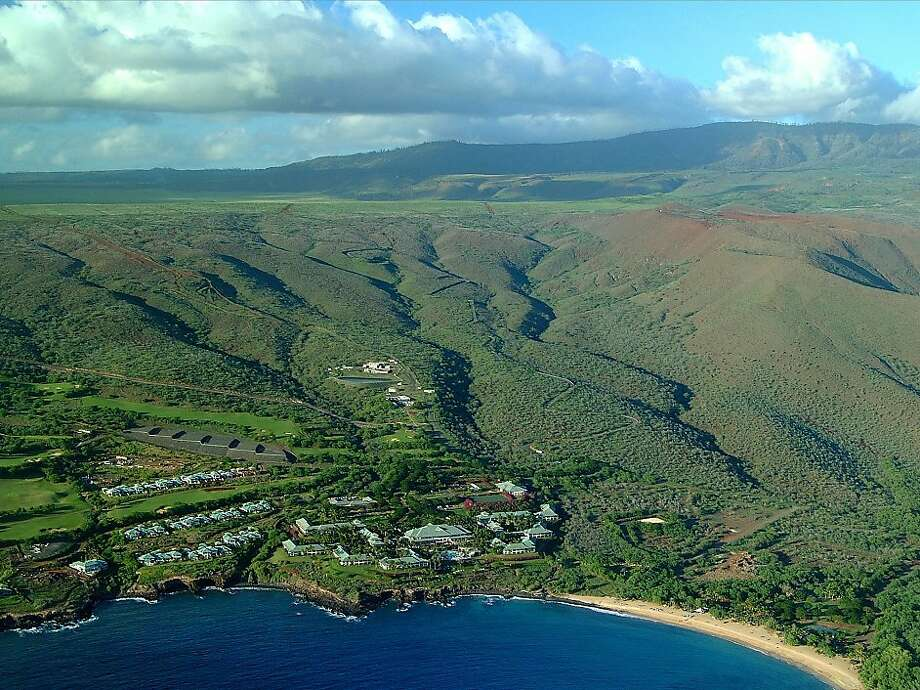 Lanai locals welcome owner Ellison's upgrades - SFGate