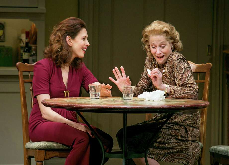 "Sisters-in-law Julie (Jessica Hecht, left) and Faye (Judith Light) maintain a close connection as the years go by in ""The Assembled Parties."" Photo: Sara Krulwich, STF"