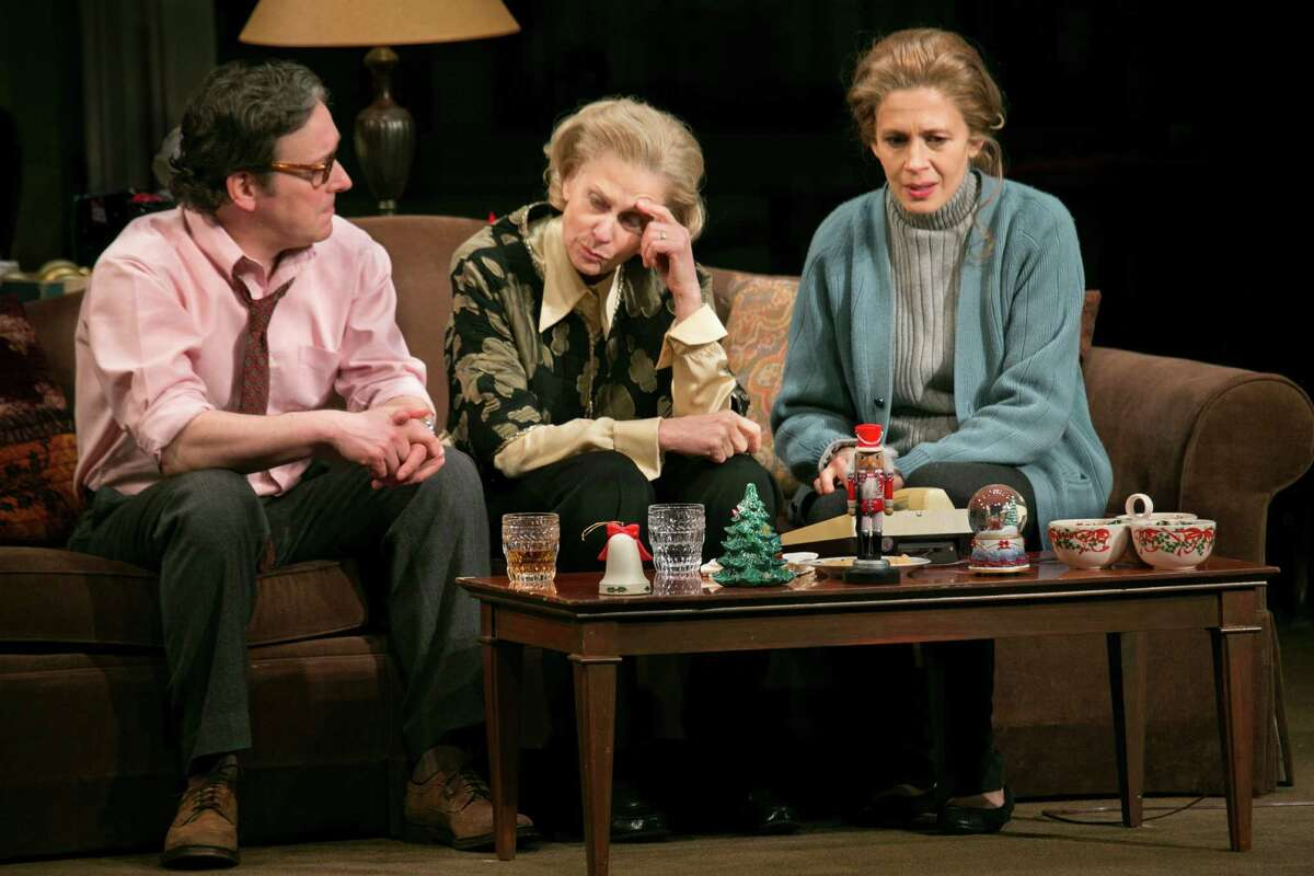 Jeremy Shamos, left, Judith Light, center, and Jessica Hecht in the play