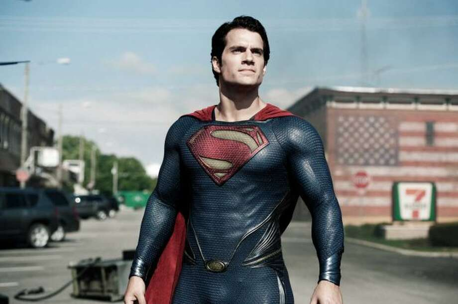 Henry Cavill stars as Superman in Man of Steel.