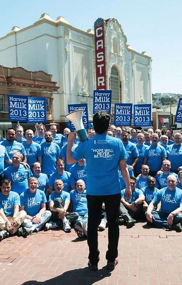 """The Gay Men's Chorus 35th anniversary celebration concert, """"Harvey Milk 2013,"""" tokk place June 27-28 at Nourse Theatre in San Francisco, featuring the world premiere of composer Andrew Lippa's """"I Am Harvey Milk."""" Photo: Kasey L. Ross Photography"""