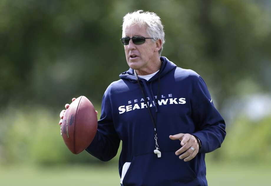 Pete Carroll on the completion of Seahawks minicamp  The Seahawks completed their three-day minicamp Thursday at the VMAC in Renton. They were still not wearing pads, but the practices gave head coach Pete Carroll and his staff a good idea of their personnel going into next month's training camp.   Carroll, of course, had plenty to say after Thursday's practice. Click through the gallery to read his comments on the progression of the Seahawks this week, starting with ...  Carroll's opening statement:  ''We have officially wrapped up what we're referring to as the organized part of the offseason (workouts, OTAs and minicamp). The weeks that we've spent together -- nine weeks together here -- have really been profitable for us. We've had tremendous participation from the guys, and the coaches have been able to get a bunch of information across and gather a ton of information. And so we feel like we've maxed out what we could at this time.''