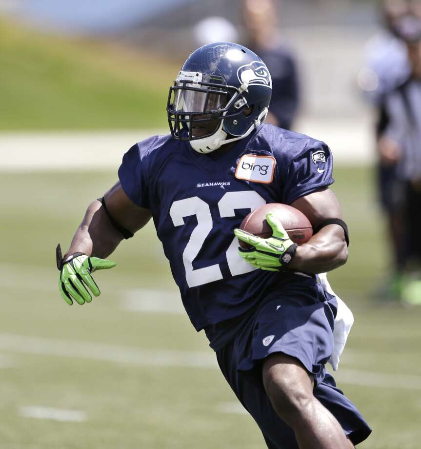 On backup running backs Robert Turbin and Spencer Ware:  ''Just to recap, Robert (pictured) had a great first year and contributed in a bunch of ways, and took the load off of Marshawn (Lynch) at times, and we expect him to do more so. (Turbin) had a great offseason. He's had a sore foot here the last couple of days that kept him out, but he'll be ready and willing to go.  ''There's nothing that Robert can't do. He can run the ball, he can catch the football, he's a really good pass protector, and he's a good special teams player also. We expect a tremendous amount out of Robert. He'll play regularly and we'll have no hesitation of putting him in the game in all situations.''