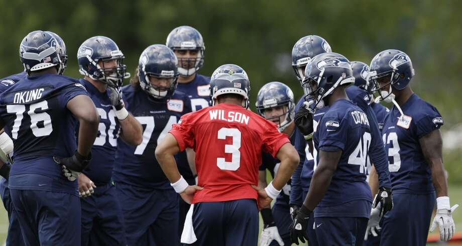 On the best way for the Seahawks to prepare for training camp:''We have a very rigorous plan to give them to follow so that they can stay on track. They've worked so hard for so long to get to this point, and we're in great shape.  ''And so we're concerned about the five weeks -- that guys could not work. They're not in the same kind of environment that's so competitive and so driven and all, so we're concerned about that. But they have good guidelines and most of the guys will be working with each other in different areas, and they're getting together at time to time.''