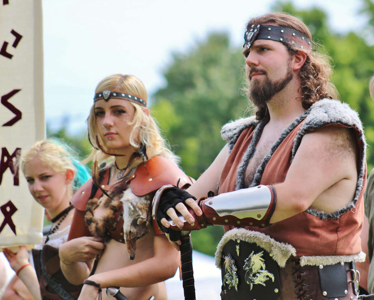 It's a battle between clans at the Midsummer Fantasy Renaissance Faire in Ansonia on weekends from June 22 through July 7.