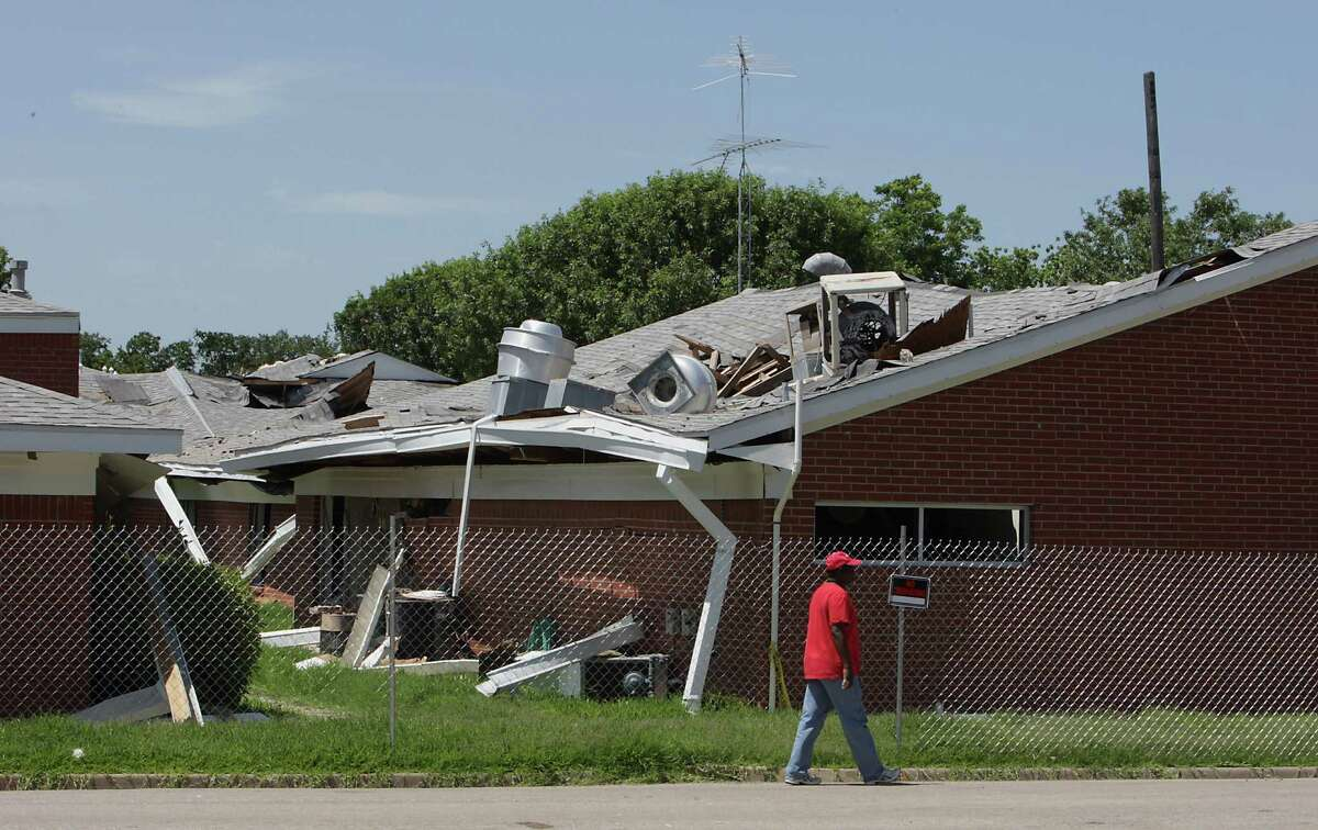 A nursing home was heavily damaged. The Federal Emergency Management Agency contends that the state has enough resources to repair streets, utility lines and other infrastructure without federal assistance.