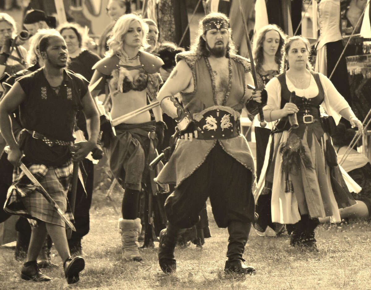 It's a battle between clans at the Midsummer Fantasy Renaissance Faire in Ansonia's Warsaw Park, weekends between June 22 through July 7.