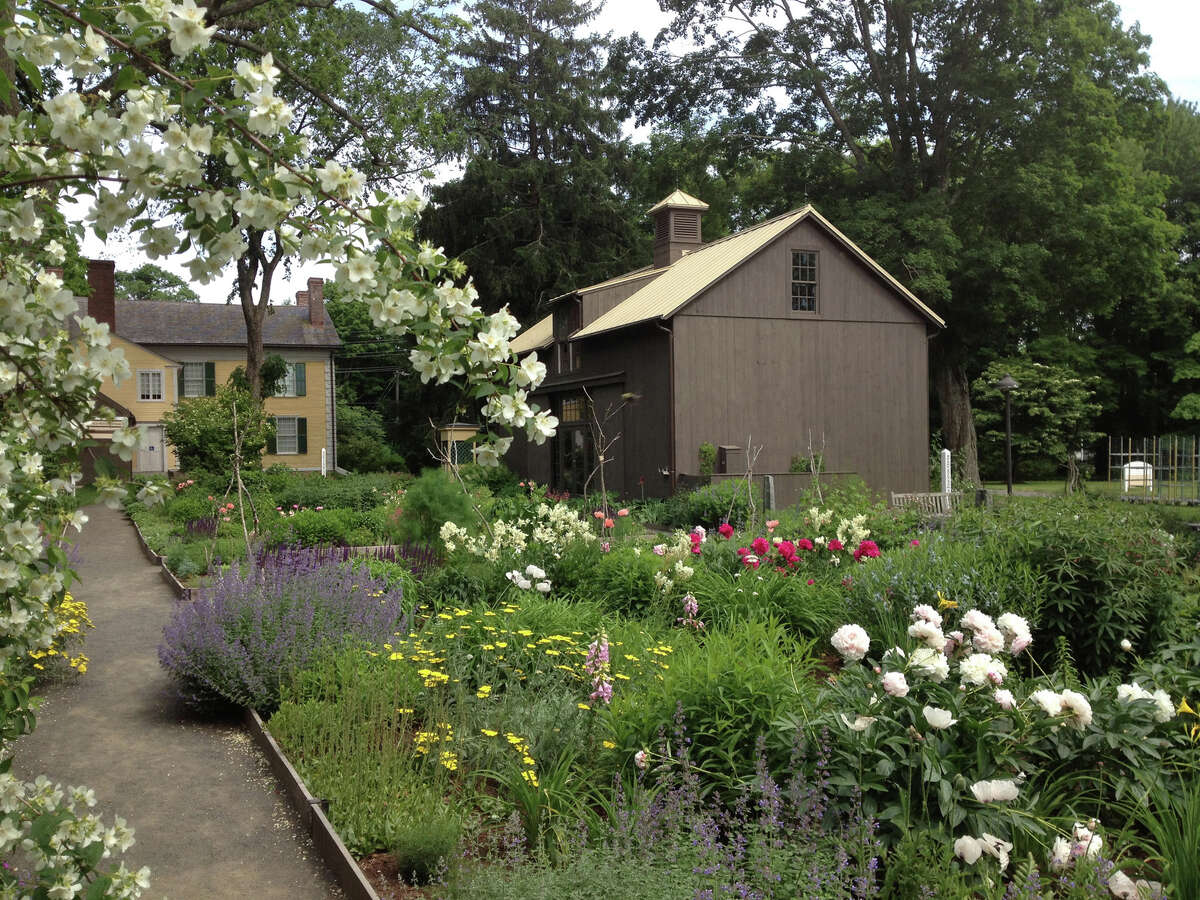 The 14 members of Connecticut's Historic Gardens group will celebrate their properties on Sunday, June 23, with special events. Above is the Florence Griswold Museum in Old Lyme.