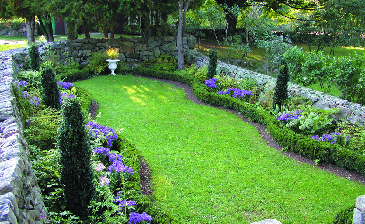 The 14 members of Connecticut's Historic Gardens group will celebrate their properties on Sunday, June 23, with special events. Above is the Sunken Garden at Weir Farm National Historic Site in Wilton.