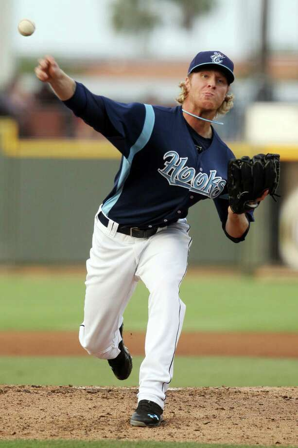 At 3-0, Mike Foltynewicz is just one of three starters with unbeaten records on Class AA Corpus Christi's staff. Photo: Michael Zamora, Caller-Times / Corpus Christi Caller-Times