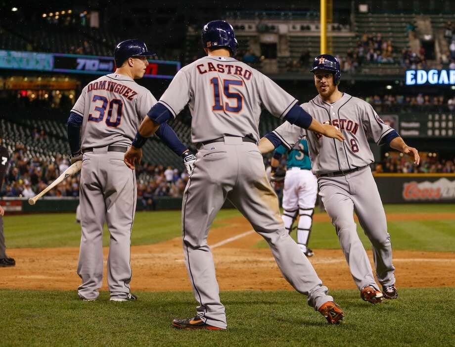 June 12: Astros 6, Mariners 1 The Astros broke open the flood gates in the ninth inning, hanging six runs on the Mariners and salvaging one win out of the three-game series. They also snapped a six-game losing streak in the process.  Record: 23-44. Photo: Otto Greule Jr, Getty Images