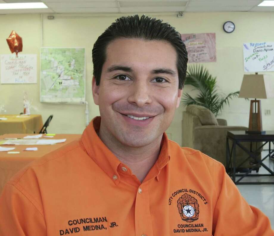 Councilman David Medina Jr. is seeking re-election.