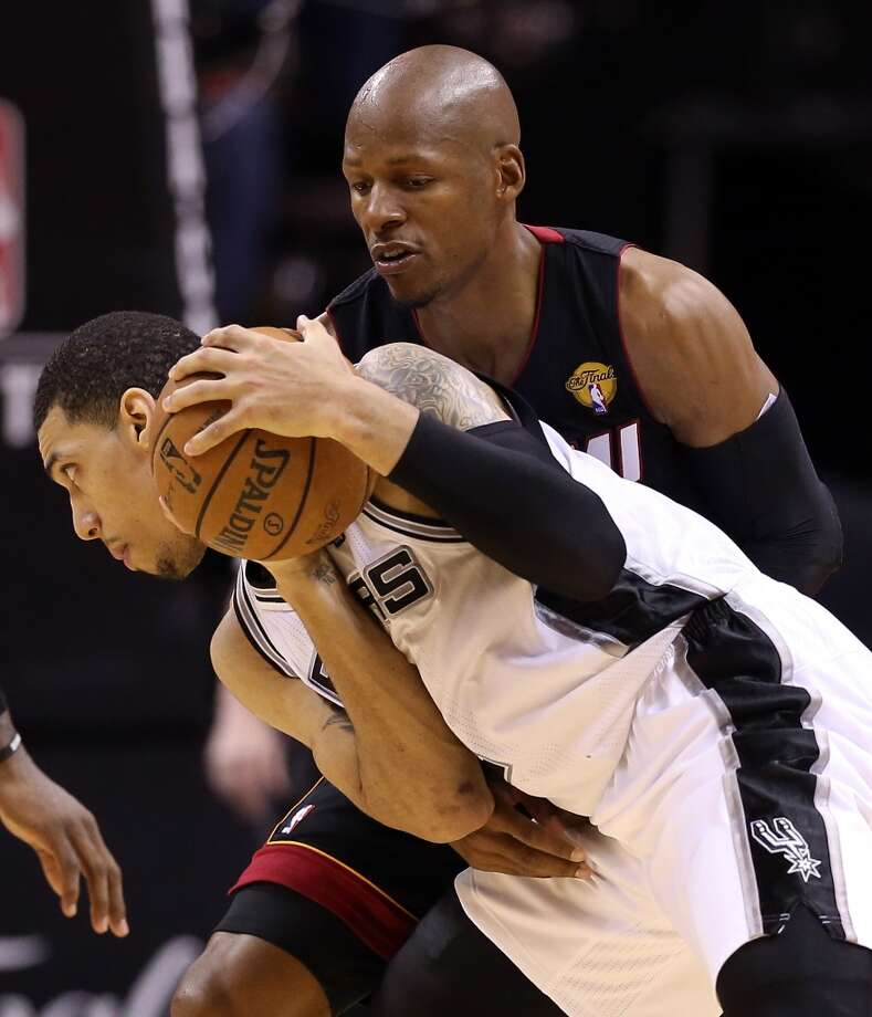 June 13: Game 4 - Heat 109, Spurs 93 The Heat responded after being blown out in Game 3, by winning the fourth game of the Finals to pull even in the series. Photo: Christian Petersen, Getty Images
