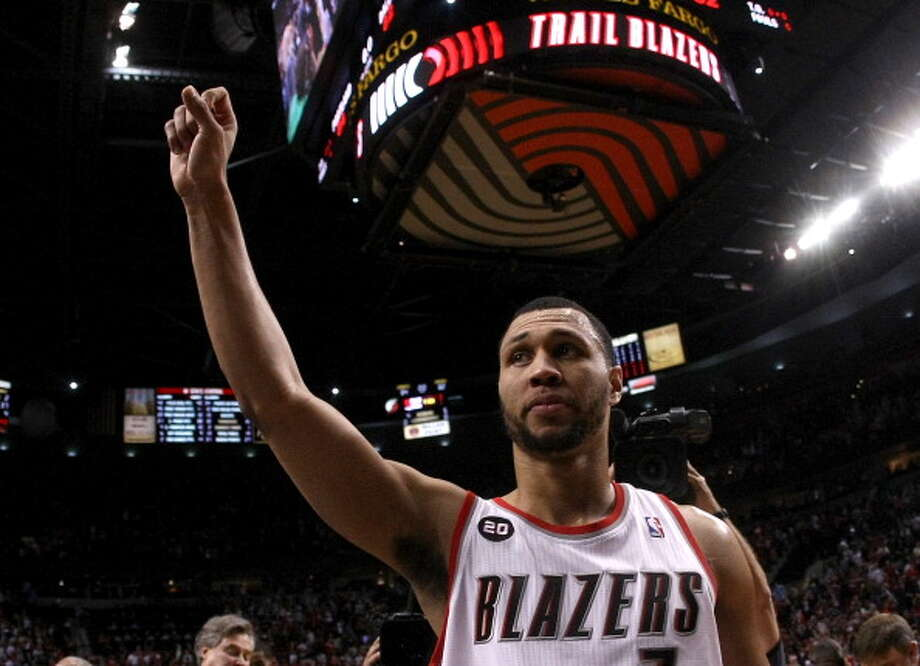Brandon Roy, shooting guard  Played for UW: 2002-06  Now with: No team (NBA free agent)  Photo: Jonathan Ferrey, Getty Images / 2011 Getty Images