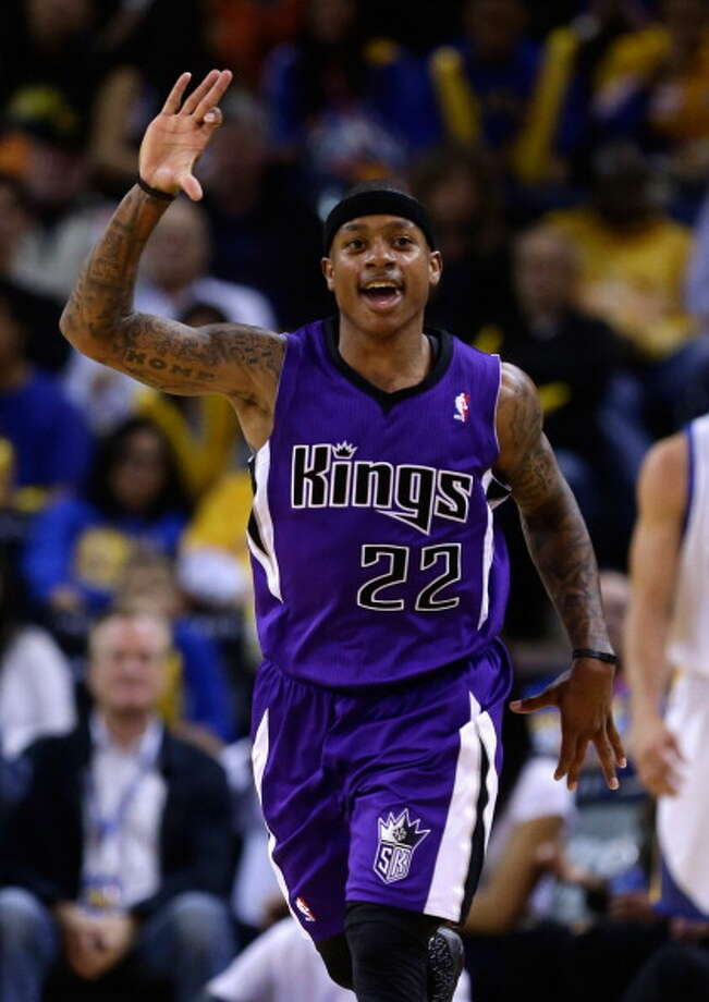 Isaiah Thomas, point guard  Played for UW: 2008-11  Now plays for: Sacramento Kings (NBA)  Photo: Ezra Shaw, Getty Images / 2013 Getty Images