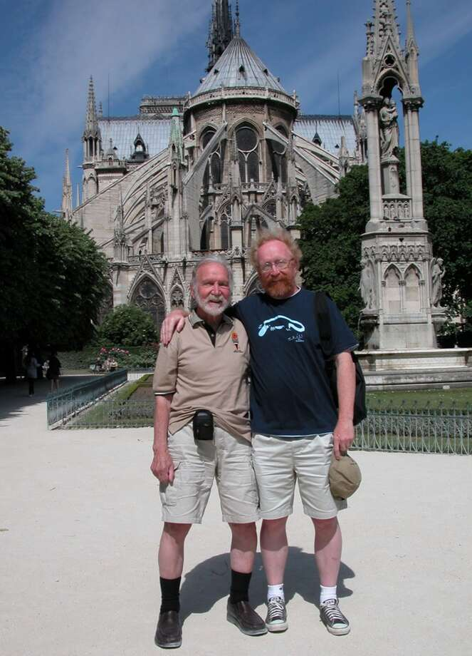 Some fathers and sons go to Paris.