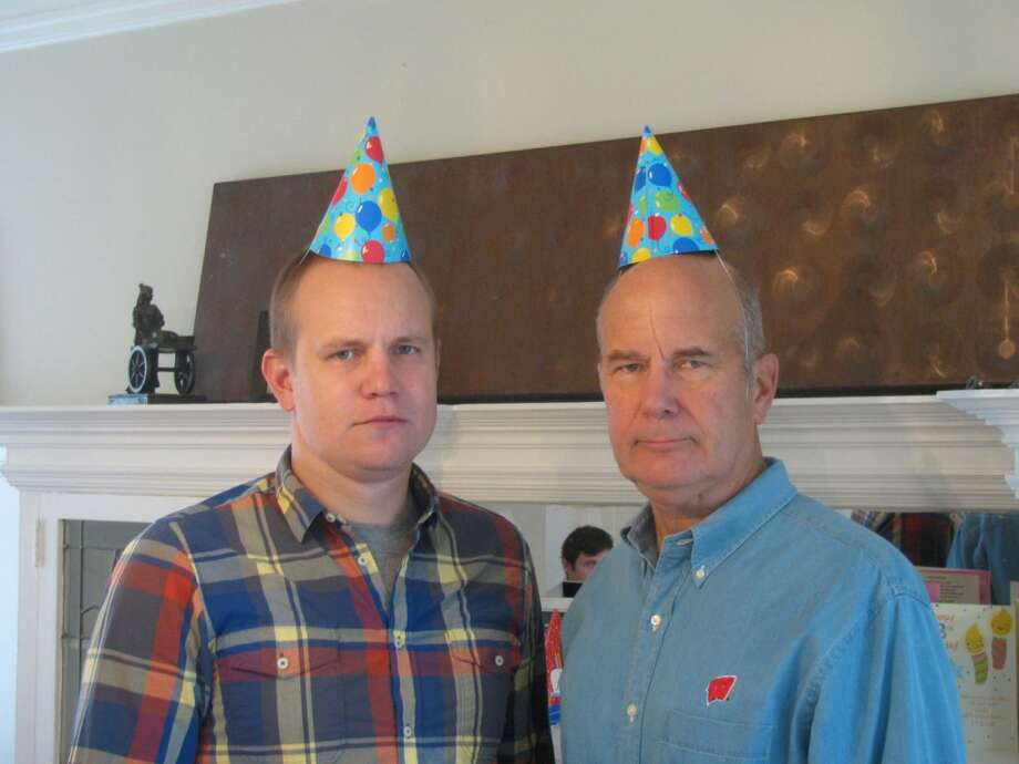 Some fathers and sons wear silly hats. Photo: Picasa, Tim-lindl