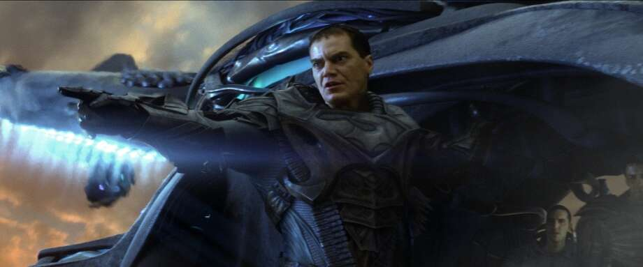 "MICHAEL SHANNON as General Zod in Warner Bros. Pictures' and Legendary Pictures' action adventure ""MAN OF STEEL,"" a Warner Bros. Pictures release."