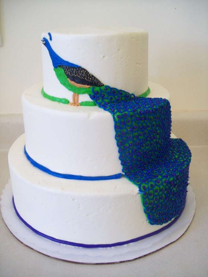 Stacked peacock by SusieCakes.