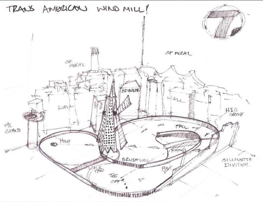 A rendering of the TransAmerica Hole