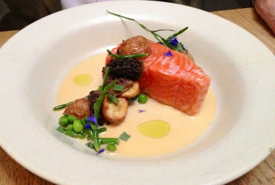 Salmon at Bar Agricole