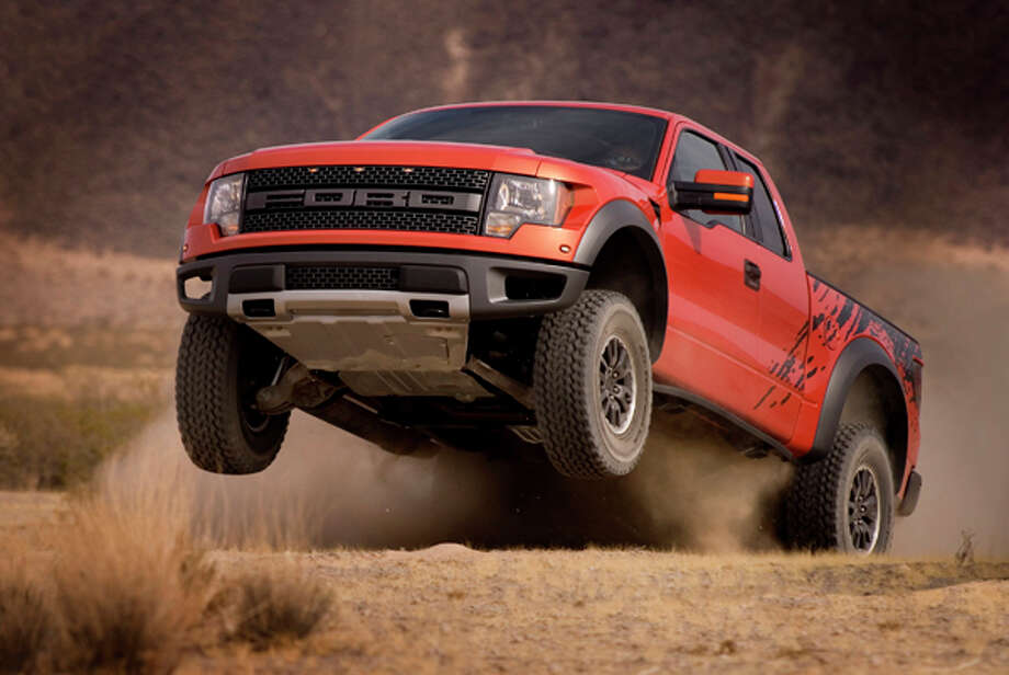 2010 F-150 SVT Raptor: Ford's Special Vehicle Team (SVT) taps into growing off-road enthusiast market and builds on the solid foundation of the new Ford F-150 to deliver the ultimate off-road performance truck - the 2010 Ford F-150 SVT Raptor. (02/08/12) Photo: Ford, Wieck / © 2012 Ford Motor Company  © 2012 Ford Motor Company