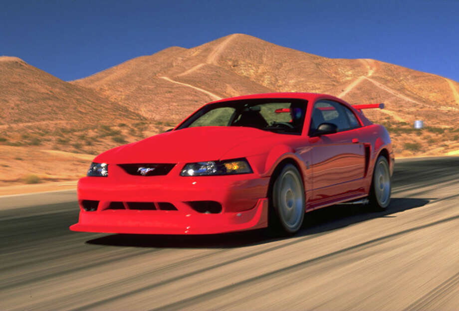 2000 Ford SVT Mustang Cobra R. Photo: Ford, Wieck / Ford