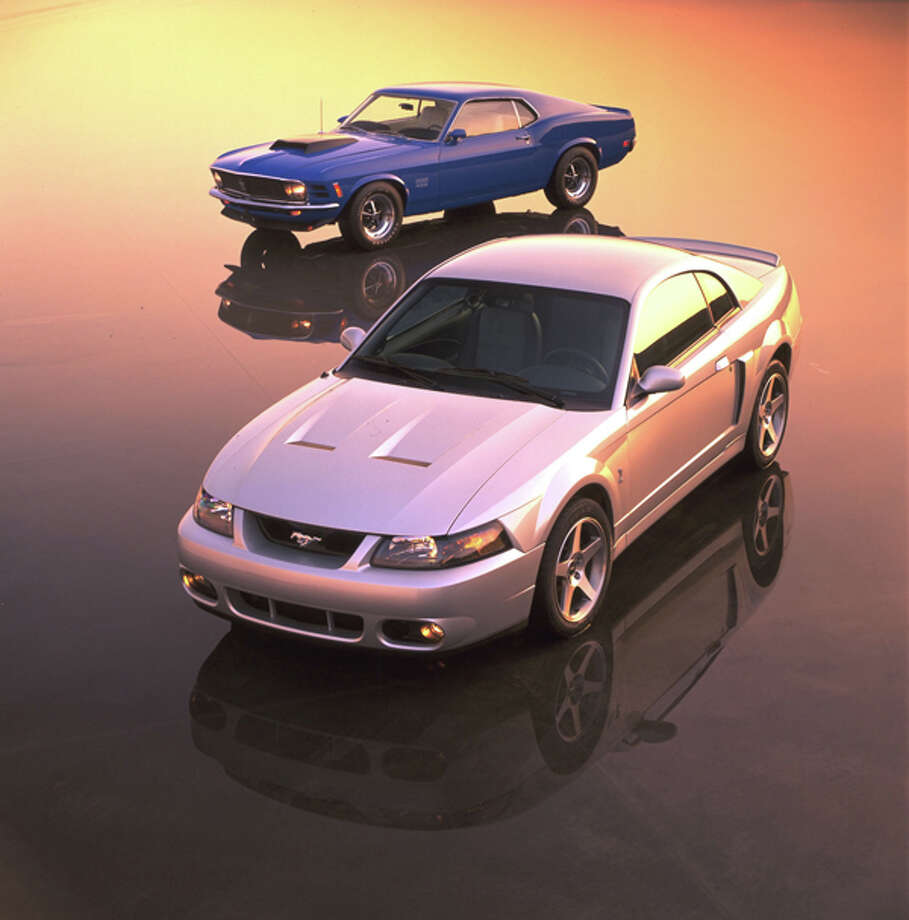 2003 Ford SVT Mustang Cobra. Photo: Ford, Wieck / Ford