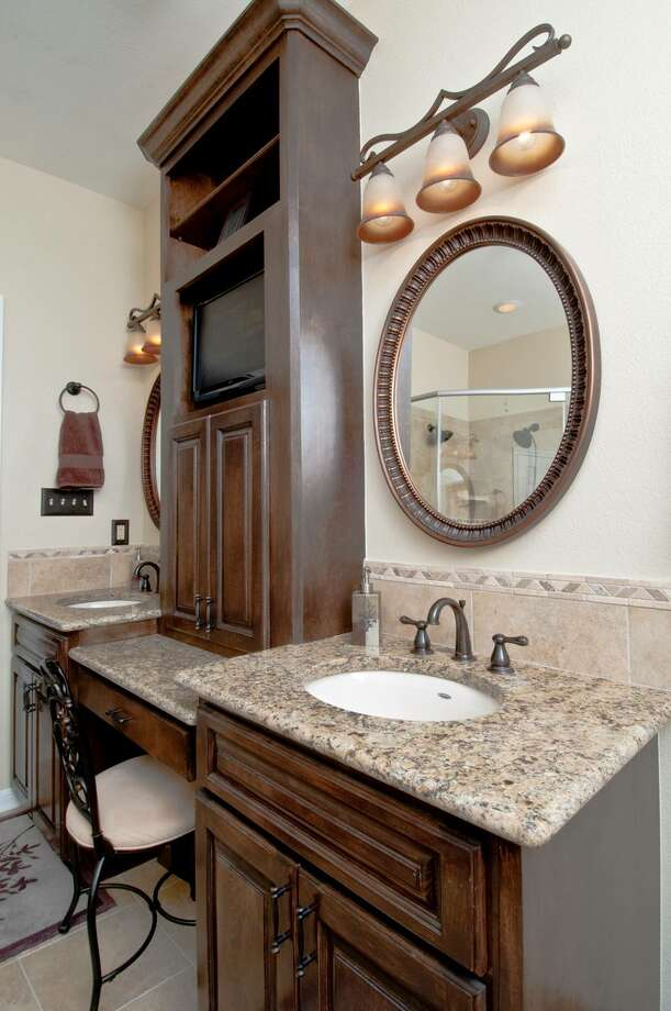 This bathroom remodel is by GB General Contractors Inc.