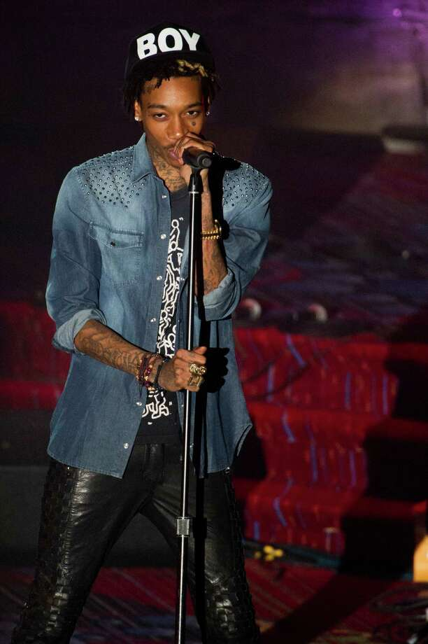Wiz Khalifa performs at the Songwriters Hall of Fame 44th annual induction and awards gala on Thursday, June 13, 2013 in New York. Photo: Charles Sykes, Charles Sykes/Invision/AP / Invision