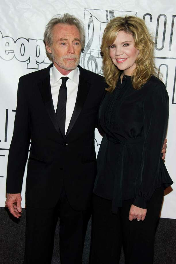 Inductee JD Souther and Alison Krauss attend the Songwriters Hall of Fame 44th annual induction and awards gala on Thursday, June 13, 2013 in New York. Photo: Charles Sykes, Charles Sykes/Invision/AP / Invision