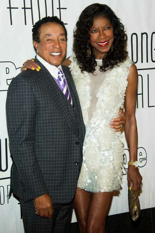 Smokey Robinson and Natalie Cole attend the Songwriters Hall of Fame 44th annual induction and awards gala on Thursday, June 13, 2013 in New York. Photo: Charles Sykes, Charles Sykes/Invision/AP / Invision