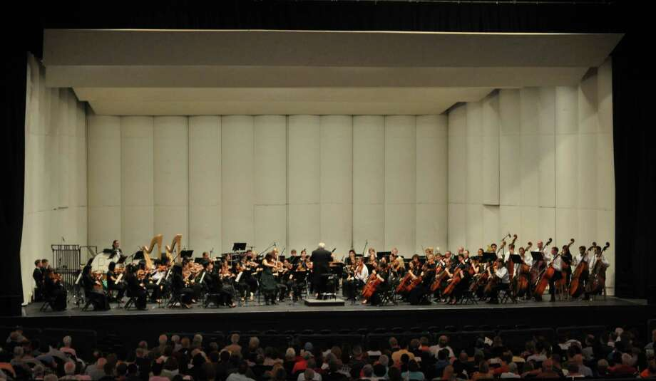 The Texas Music Festival Orchestra.