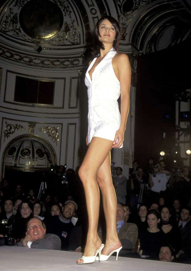 1996: Helena Christensen during 1996 Victoria's Secret Fahion Show - February 6, 1996 at The Plaza Hotel in New York City, New York, United States. (Photo by Ron Galella, Ltd./WireImage) Photo: Ron Galella, Ltd., Getty Images / Ron Galella Collection