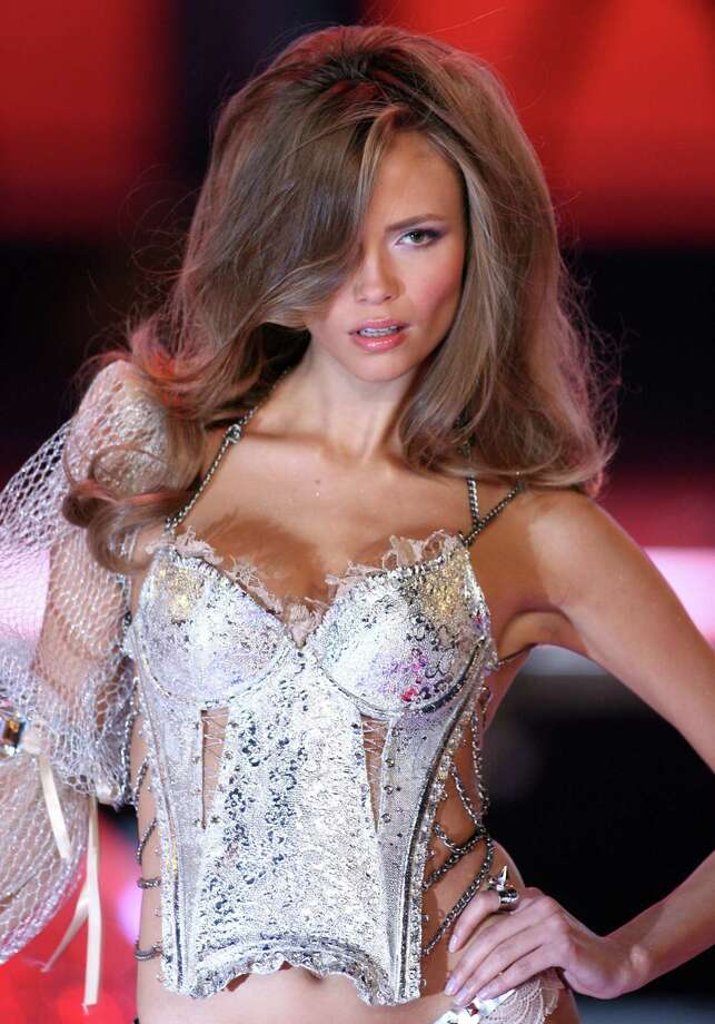 2006: Natasha Poly wearing Swarovski embellished garments by Victoria's Secret (Photo by John Shearer/WireImage) Photo: John Shearer, Getty Images / WireImage
