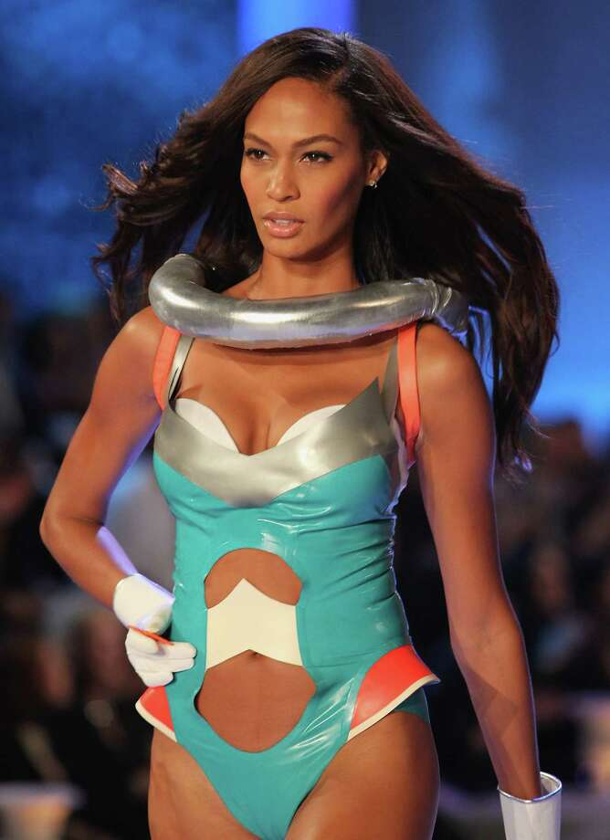 2011: Model Joan Smalls walks the runway during the 2011 Victoria's Secret Fashion Show at the Lexington Avenue Armory on November 9, 2011 in New York City.  (Photo by Kevin Kane/FilmMagic) Photo: Kevin Kane, Getty Images / 2011 Kevin Kane