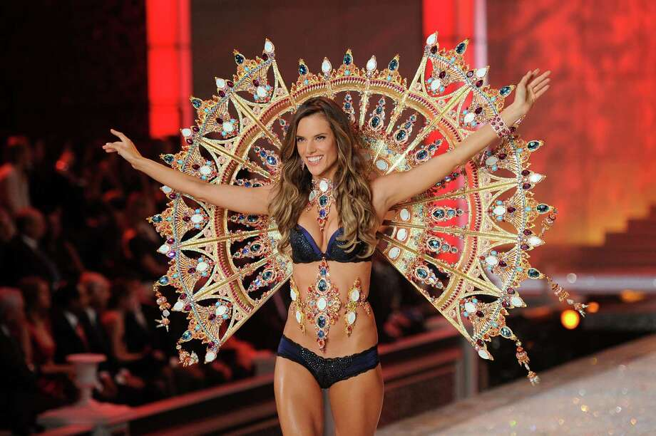 2011: Model Alessandra Ambrosio walks the runway during the 2011 Victoria's Secret Fashion Show at the Lexington Avenue Armory on November 9, 2011 in New York City. Photo: Jamie McCarthy, Getty Images / 2011 Getty Images