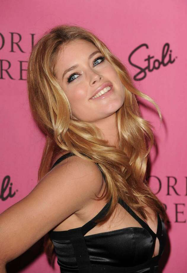 "2010: Victoria's Secret Supermodel Doutzen Kroes arrives at the reveal of Victoria's Secret Supermodels celebration of 2010 5th Annual ""What Is Sexy?"" List: Bombshell Edition at Drai's at the W Hollywood May 11, 2010 in Hollywood, California. Photo: Frazer Harrison, Getty Images / 2010 Getty Images"