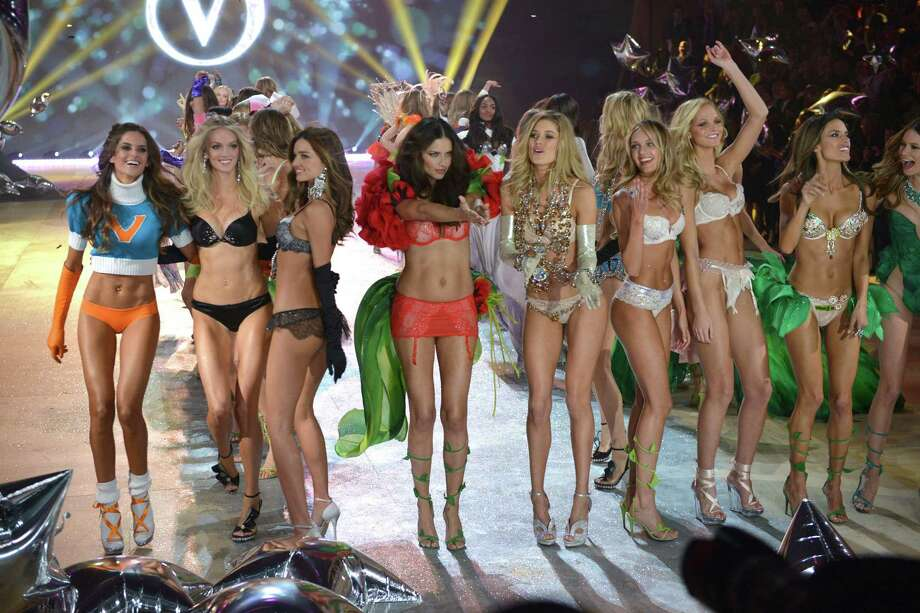 2012: Models walk the runway during the Victoria's Secret 2012 Fashion Show on November 7, 2012 in New York City. Photo: Bryan Bedder, Getty Images / 2012 Getty Images