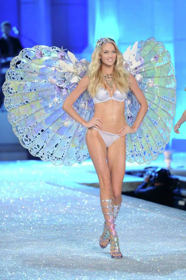 2011: Lindsay Ellingson walks the runway during the 2011 Victoria's Secret Fashion Show at the Lexington Avenue Armory on November 9, 2011 in New York City. Photo: Jamie McCarthy, Getty Images / 2011 Getty Images