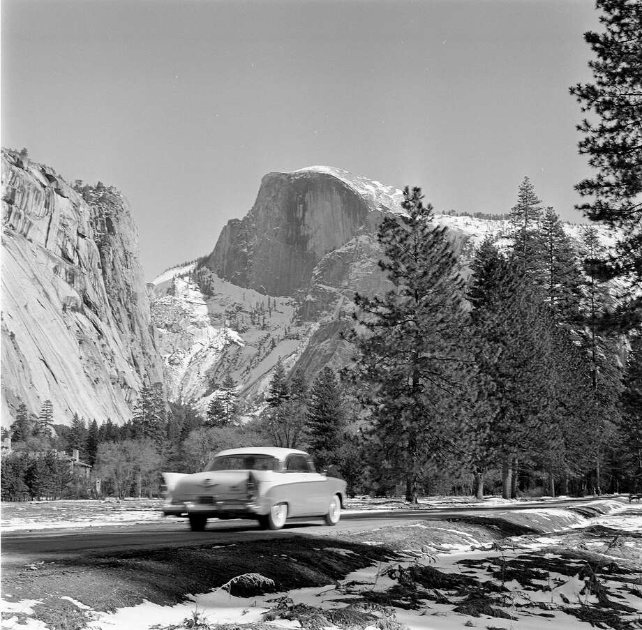 1956: Dodge 500 in Yosemite Photo: Source Interlink Media, SIM Via Getty Images / Source Interlink Media