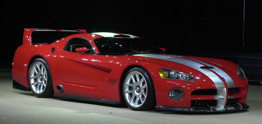 2000: Dodge Viper GTS/R concept car Photo: JEFF KOWALSKY, AFP/Getty Images / AFP