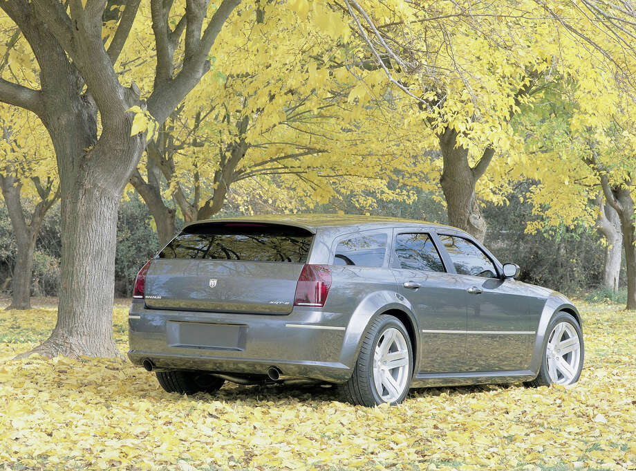 2003: Dodge Magnum prototype Photo: Getty Images / 2003 DaimlerChrysler
