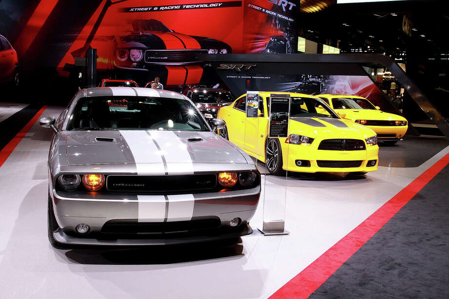 2012: Dodge Challenger SRT8 and Dodge Charger SRT8 Super Bee Photo: Raymond Boyd, Getty Images / 2012 Raymond Boyd