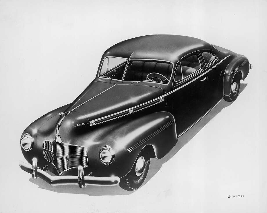 1940: Dodge two-door sedan Photo: FPG, Getty Images / 2008 Getty Images