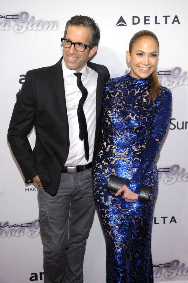 NEW YORK, NY - JUNE 13:  Designer Kenneth Cole and Jennifer Lopez attends the 4th Annual amfAR Inspiration Gala New York at The Plaza Hotel on June 13, 2013 in New York City.  (Photo by Michael Loccisano/Getty Images)