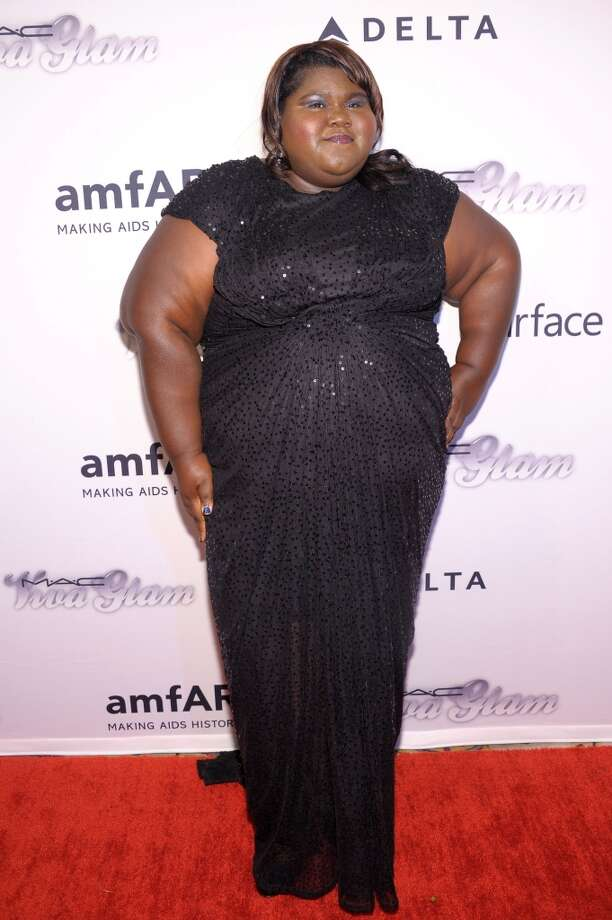 NEW YORK, NY - JUNE 13:  Actress Gabourey Sidibe  attends the 4th Annual amfAR Inspiration Gala New York at The Plaza Hotel on June 13, 2013 in New York City.  (Photo by Michael Loccisano/Getty Images)