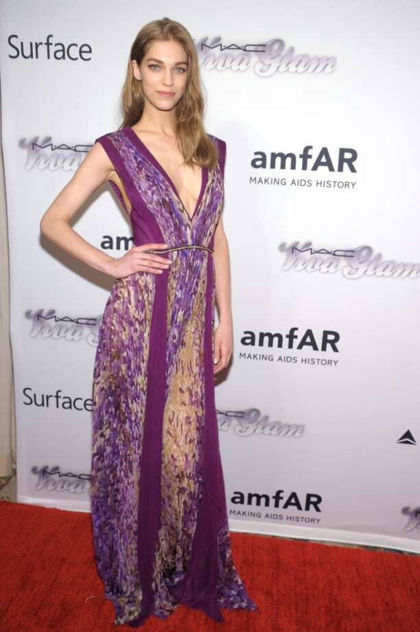 NEW YORK, NY - JUNE 13:  Samantha Gradoville attends the 4th Annual amfAR Inspiration Gala New York at The Plaza Hotel on June 13, 2013 in New York City.  (Photo by Michael Loccisano/Getty Images)