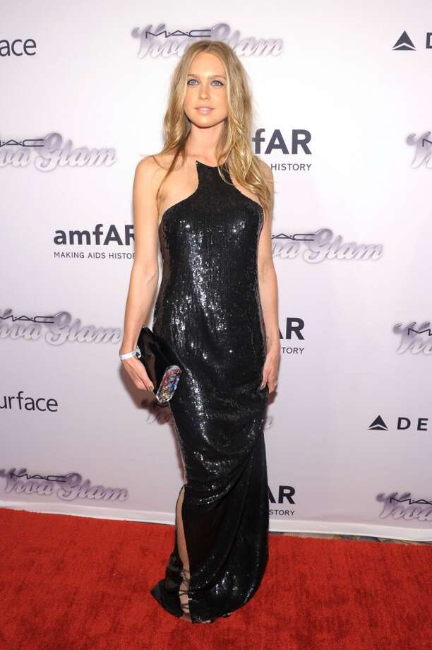 NEW YORK, NY - JUNE 13:  Actress Katharina Damm attends the 4th Annual amfAR Inspiration Gala New York at The Plaza Hotel on June 13, 2013 in New York City.  (Photo by Michael Loccisano/Getty Images)