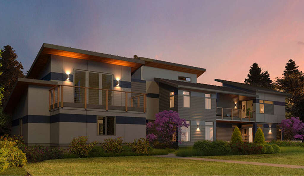 A Depiction Of A House From Evoke, Bellevue Based Quadrant Homesu0027 New Line